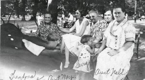 Reyst and Smouter Family on Belle Isle circa 1930